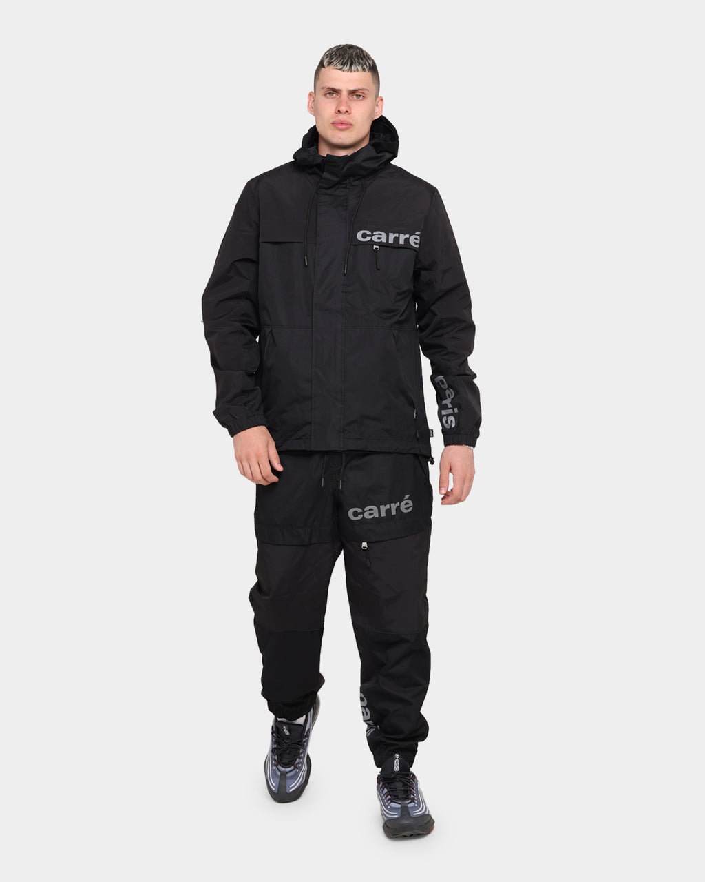 Carré Adventure Reflective Trackpant Black/Reflective