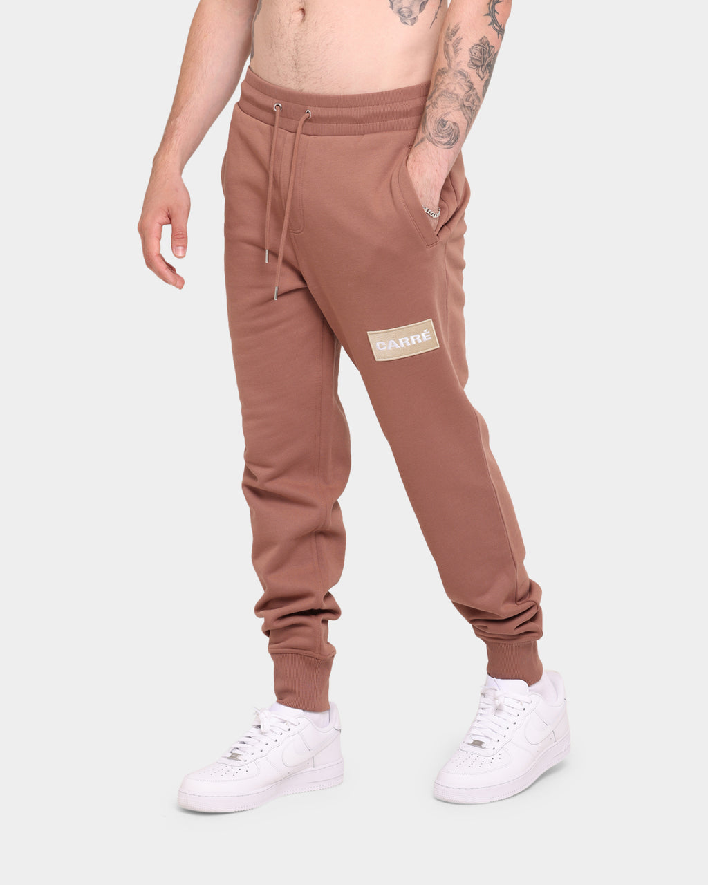 Carré Box Classique Sweatpant Brown
