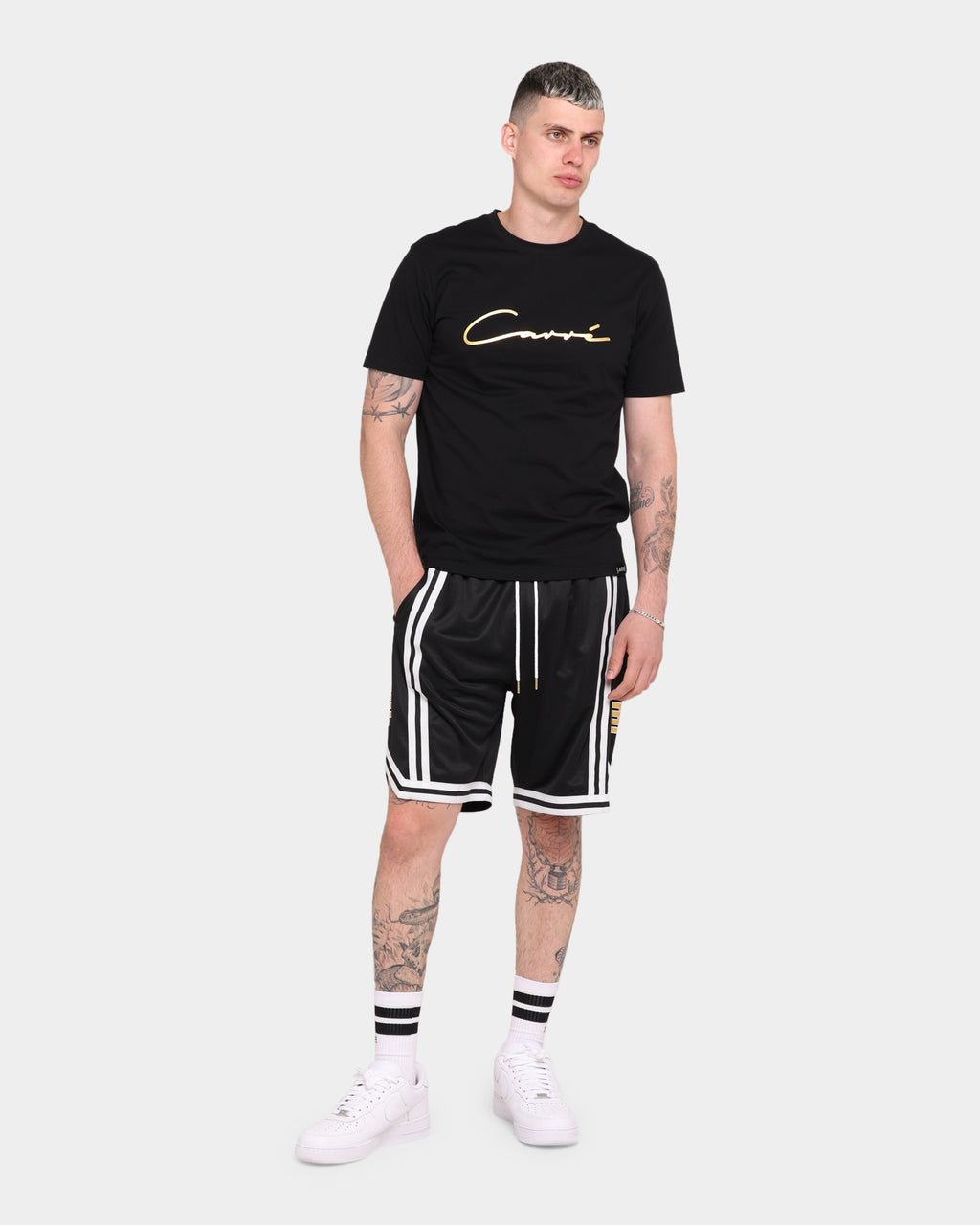 Carré Mono Ball Shorts Black/Gold