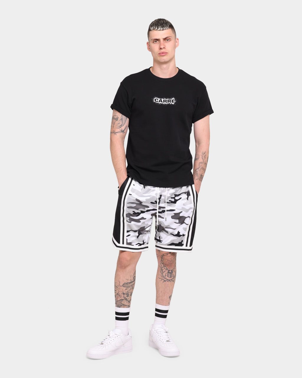 Carré Mono Ball Shorts Snow Camo