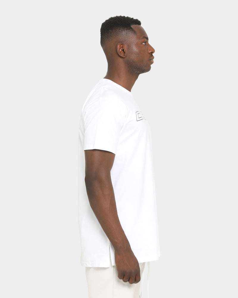 Carré Digi Divise Short Sleeve T-Shirt White