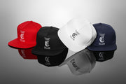 Carré Established Snapback White