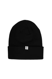 Capital C Beanie Black
