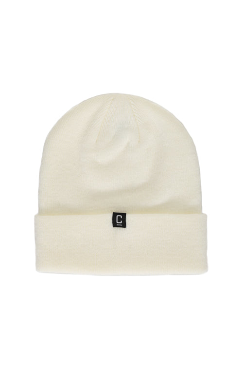 Capital C Beanie White