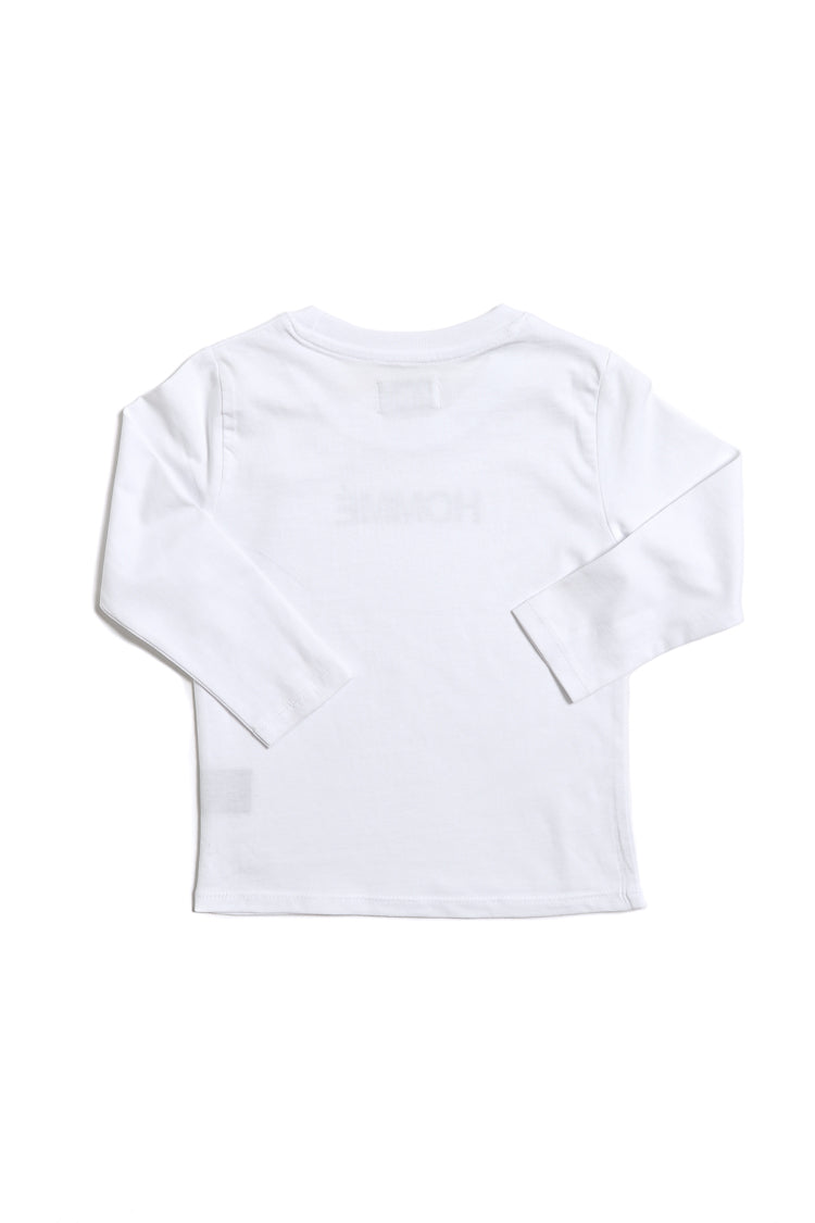 Homme Long Sleeve Tee White
