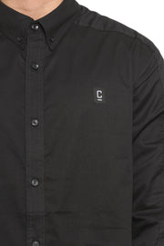 Longline Button up Lsl Black