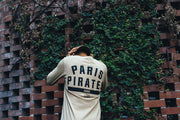 Paris Pirates Long Sleeve Capone 2 Tee Stone