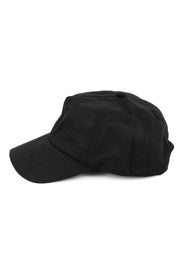 Captain Precurved Snapback Black