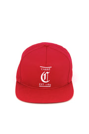 Carré Established Snapback Red