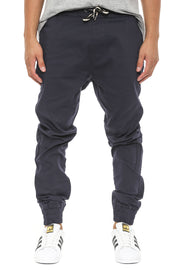 Propre Woven Joggers Navy