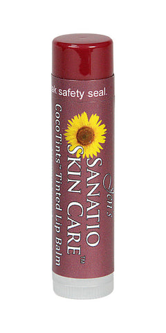 CocoTints Tinted Lip Balm | Autumn Sunset - Sanatio Skin Care Organic