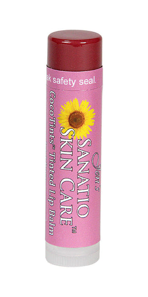 CocoTints Tinted Lip Balm | Iced Rose - Sanatio Skin Care Organic