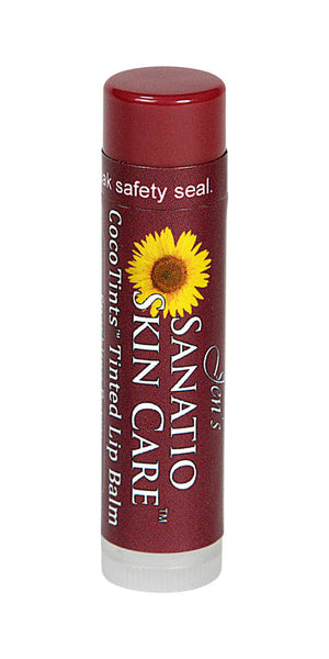 CocoTints Tinted Lip Balm | Sparkling Berry - Sanatio Skin Care Organic