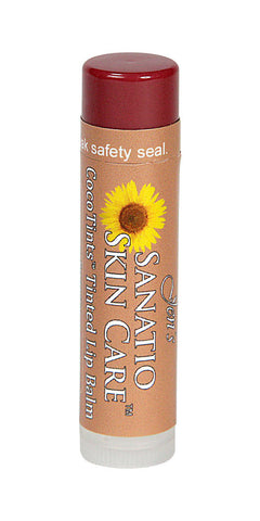 CocoTints Tinted Lip Balm | Sunrise - Sanatio Skin Care Organic