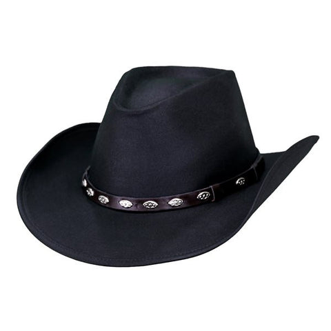 Outback Badlands Hat - Classic Western Style Cowboy Cotton Oilskin Hat