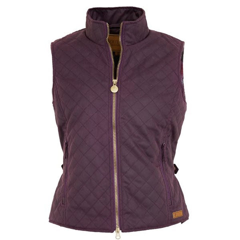 Outback Ladies' Quilted Vest - Quilted Water & Wind Resistant Breathable