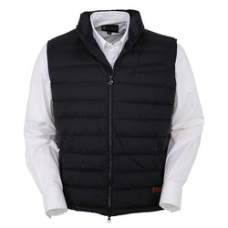 Outback Men's Bryce Vest - Original Fit Nylon Western Yoke Style 2-Way Zipper