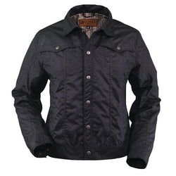 Outback Men's Kelman Jacket - Traditional Denim Style With Adjustable Cuffs