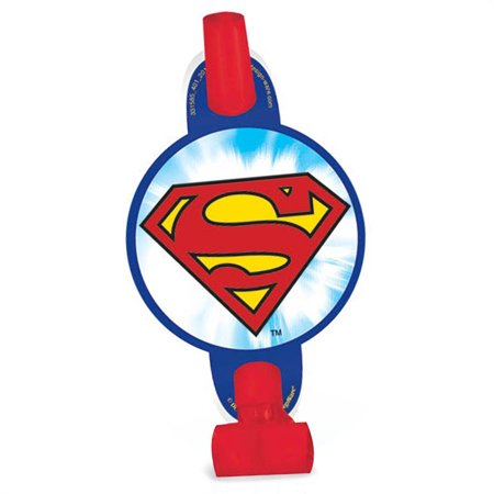 Justice League Party Favor Blowouts 8ct