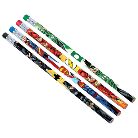 Justice League Party Favor Pencils 12ct