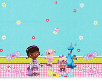 Doc McStuffins Plastic Table Cloth (Rectangle)