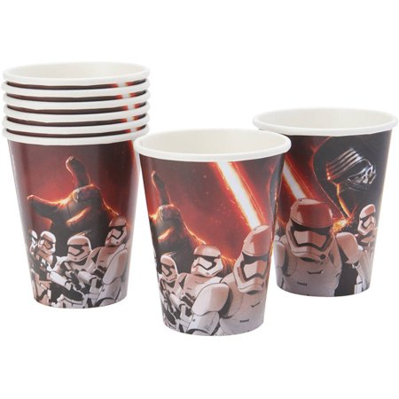 Star Wars Episode VII 9oz Paper Cup 8ct