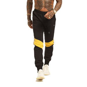 METHODS TRACKPANT - Black/Yellow