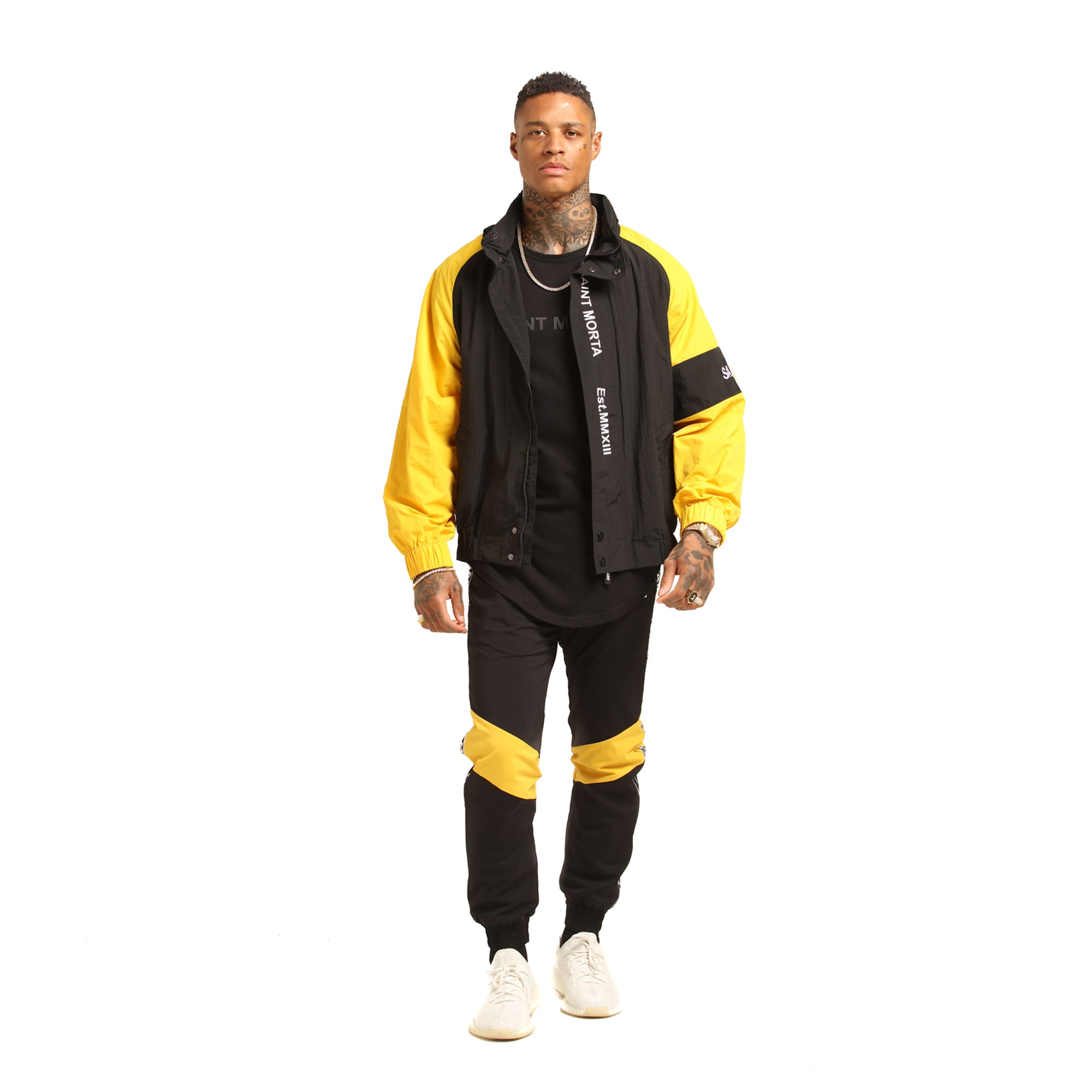 METHODS WINDBREAKER - Yellow/Black