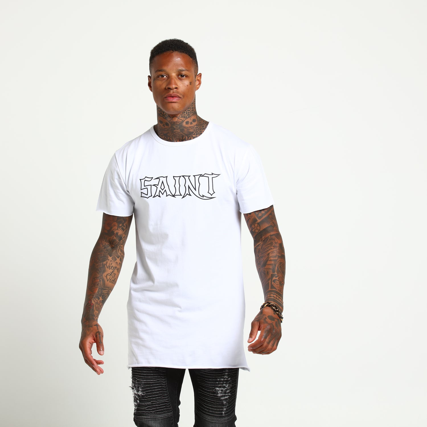 HAVEN TALL TEE - White
