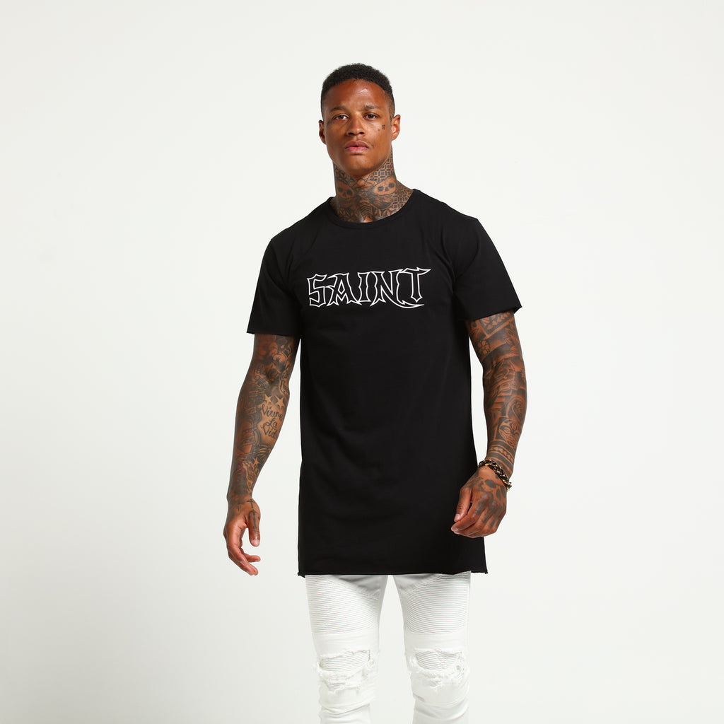 HAVEN TALL TEE - Black