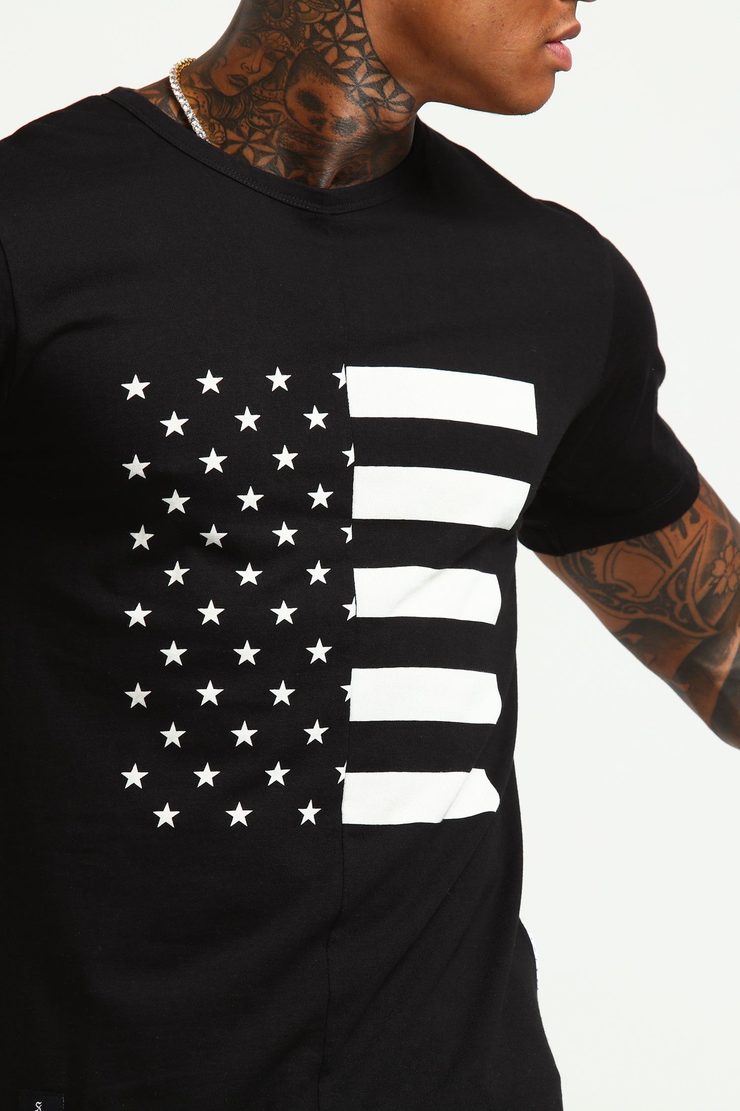 DEMOCRACY SS TEE - Black