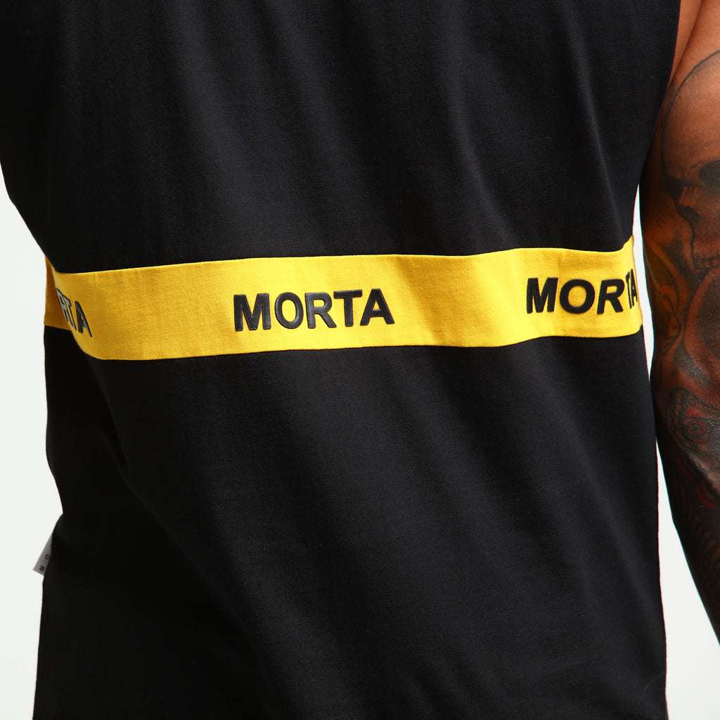 FIRST CLASS MUSCLE - Black/Mustard
