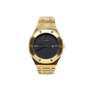 LUXE WATCH - Gold/Black