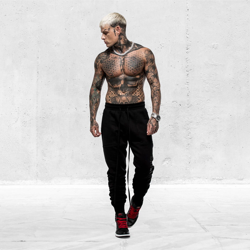 LOVELL X TRACKPANT - Black/Black