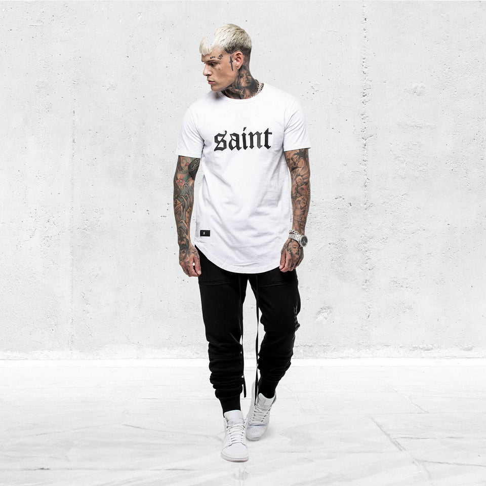 Cambronne El Duplo SS Tee White/Black