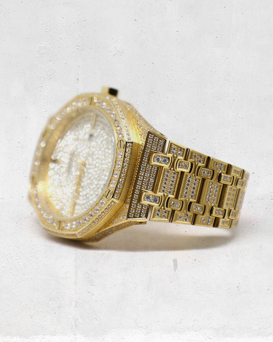 PREMIER WATCH - Iced Gold