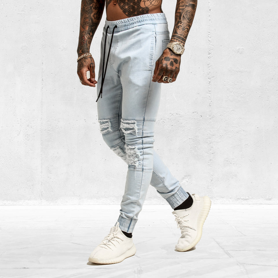 Slasher Jogger Light Blue