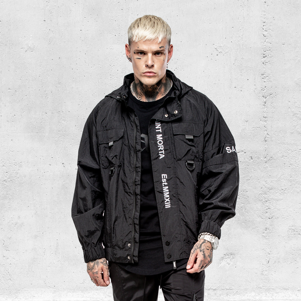 Methods Utility Windbreaker - Black/3M