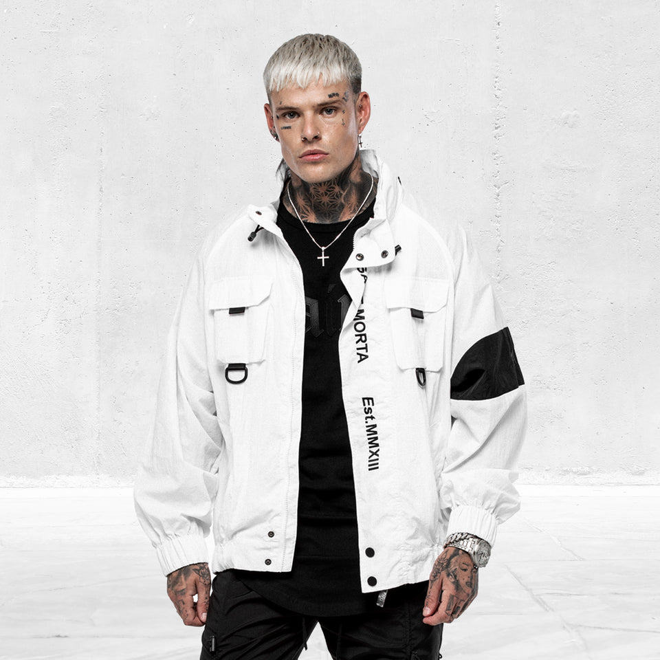 Methods Utility Windbreaker White/Black