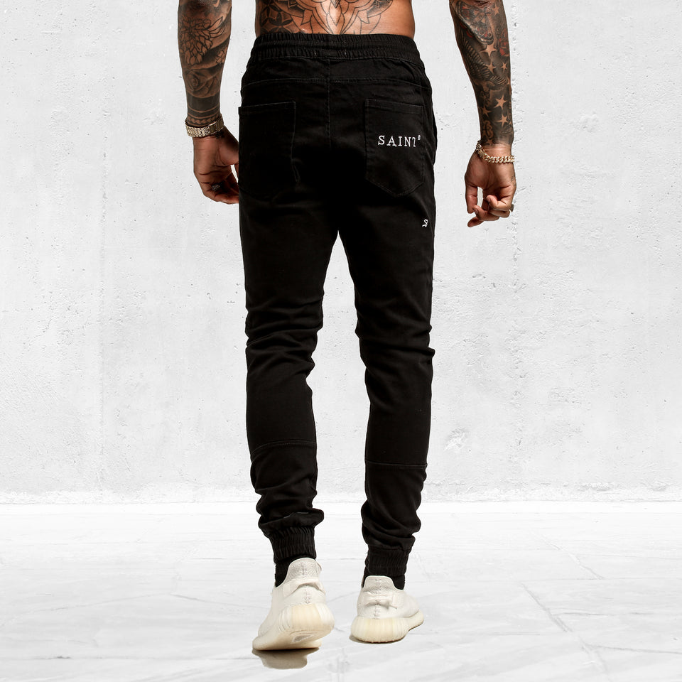 Slasher Jogger Black