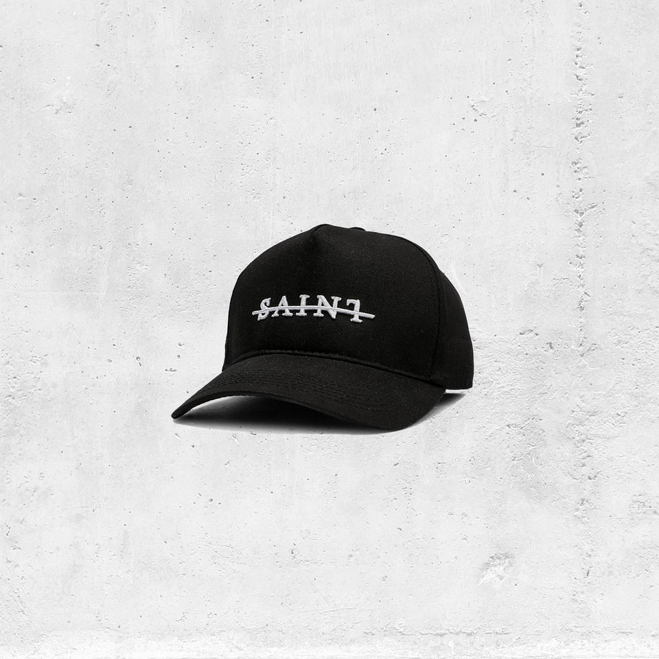 Saint Morta Strikeout Strapback Black