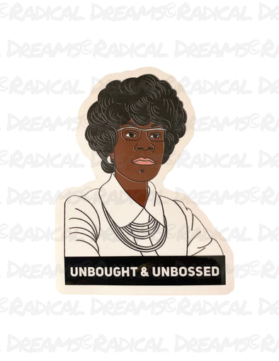 Shirley Chisholm - STICKER