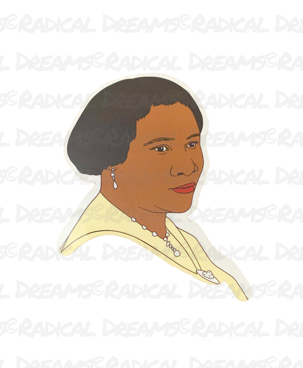 Madam CJ Walker - STICKER