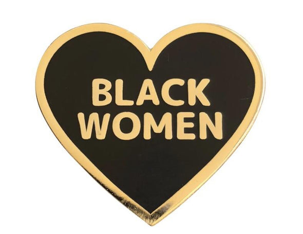 I Love Black Women Pin - Radical Dreams Pins