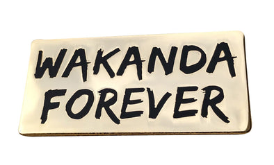 Black Panther Movie - Wakanda Forever Lapel Pin - Radical Dreams Pins