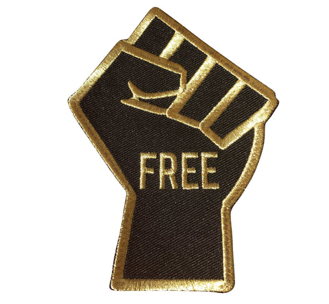 FREEdom Fist - Patch - Radical Dreams Pins