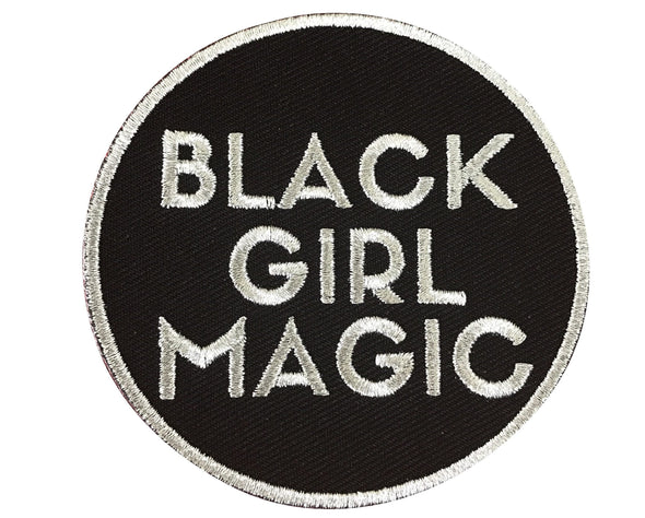 Black Girl Magic Patch - SILVER - Radical Dreams Pins
