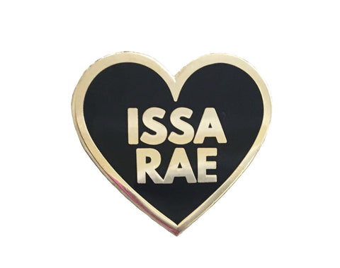 I Love Issa Rae Lapel Pin