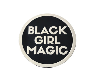 Black Girl Magic - 3D STICKER - Radical Dreams Pins