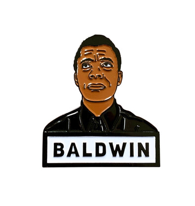 Baldwin Lapel Pin